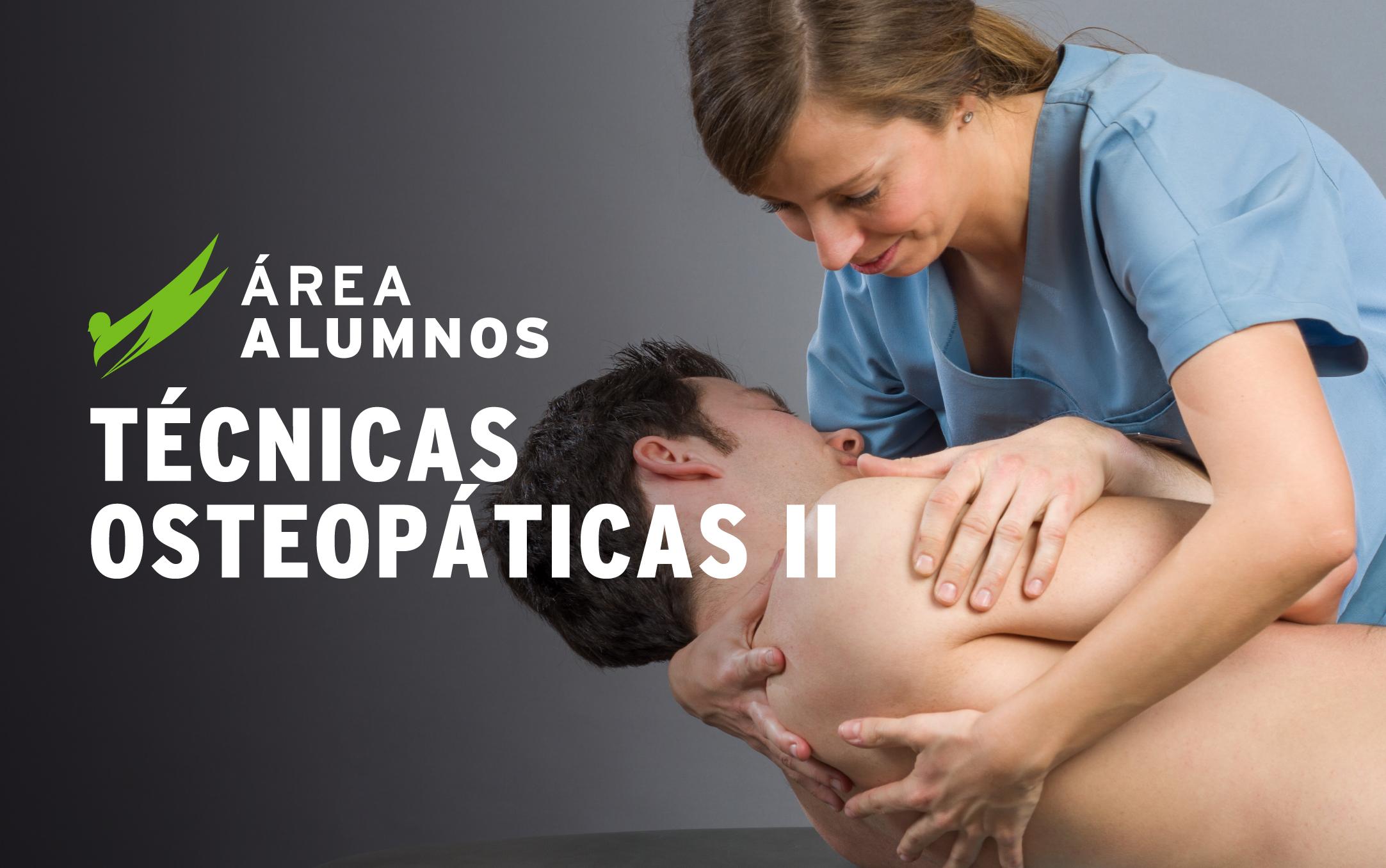 Técnicas Osteopáticas II - Estructurales